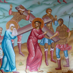 Фрагмент росписи Покровской церкви в Акулово