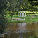 Усадьба Марьино Тосненский район Ленинградская область, парк спрудом