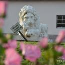 Усадьба Марьино Ленинградская область, каменный лев