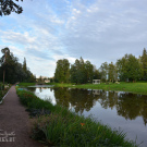 Усадьба Марьино Тосненский район Ленинградская область, парк с прудом
