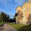 Усадьба Марьино Ленинградская область, дворец со стороны парка
