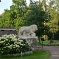 Усадьба Марьино Тосненский район Ленинградская область, скульптура льва
