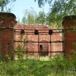 Аракчеевские казармы в селе Медведь, вид на манеж