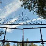 Аракчеевские казармы в селе Медведь, ворота на манеж