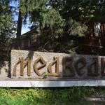 с. Медведь Новгородская область, памятный знак рядом с въездом в военный городок