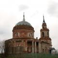 Церковь Михаила Архангела в усадьбе Архангельское Бове до реставрации