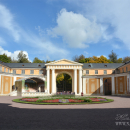 Усадьба Архангельское, парадный двор
