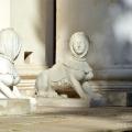 Усадьба Архангельское, скульптуры из усадьбы Никольское-Урюпино
