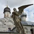 Усадьба Архангельское, скульптура над могилой Юсуповой