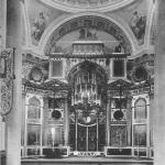 Борисоглебский монастырь в Торжке, собор Бориса и Глеба, интерьер