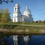 Усадьба Белая Колпь церковь