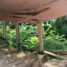 Усадьба Быкова гора, главный дом, терраса