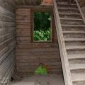 Усадьба Быкова гора, главный дом, лестница на второй этаж