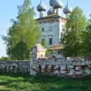 Большие Всегодичи, Успенская церковь (вид с северо-запада)