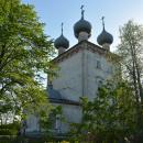 Большие Всегодичи, Успенская церковь (вид с северо-востока)