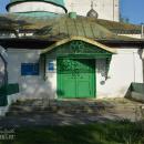 Большие Всегодичи, Успенская церковь, крыльцо с главным входом