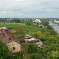Борисоглебский монастырь в Торжке, вид с колокольни