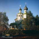 Бородино, церковь Рождества Христова. Фото С.М. Прокудина-Горского