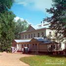 Бородино, усадебный дом. Фото С.М. Прокудина-Горского