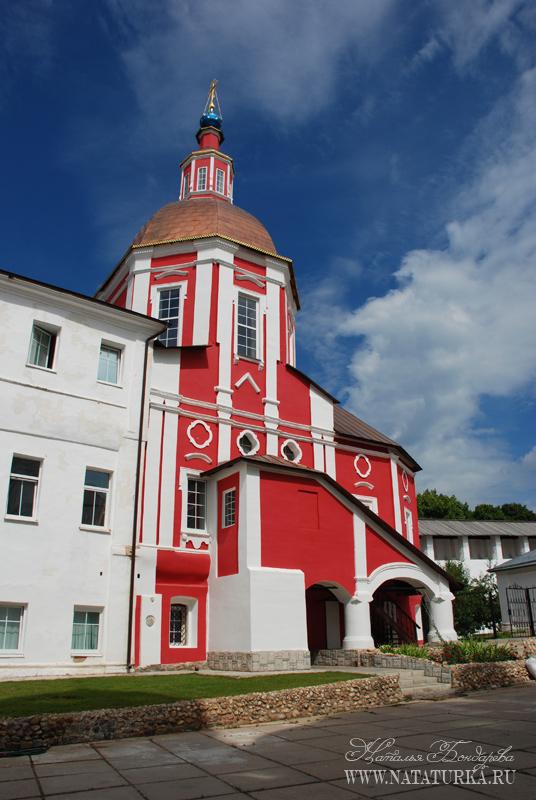 Боровский монастырь схема проезда 154