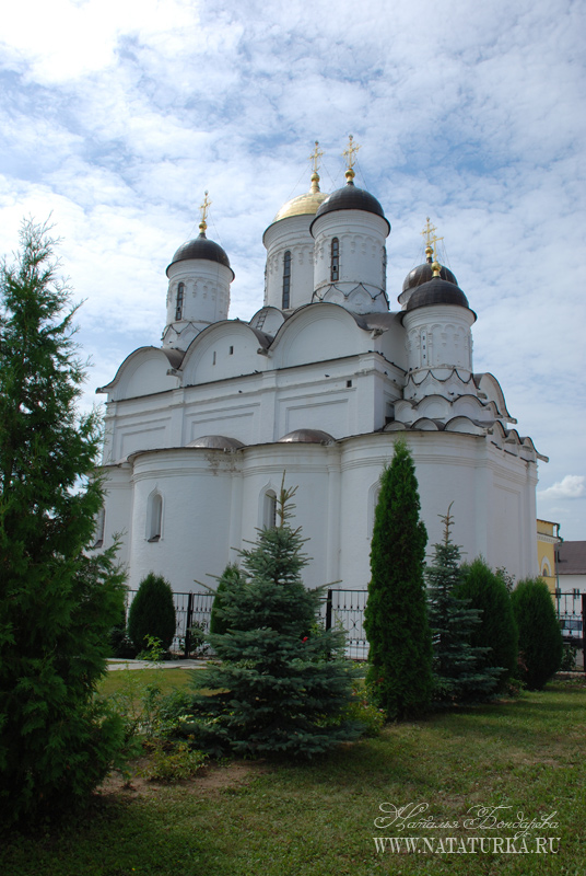 Боровский монастырь схема проезда 1000