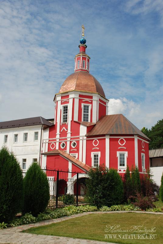 Боровский монастырь схема проезда 985