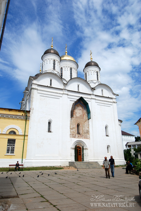 Боровский монастырь схема проезда 923