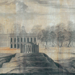 Усадьба Царицыно, панорама усадьбы, генеральный фасад. 1776, В.И. Баженов