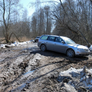 дорога в Веретьево (весна)