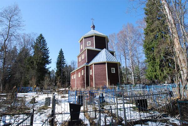 Фото храма георгия победоносца в веретьево