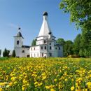 Усадьба Городня шатровая Воскресенская церковь