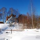 Усадьба Чашниково Нарышкиных, церковь св. Троицы