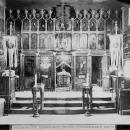 Гефсиманский скит, интерьер деревянной церкви