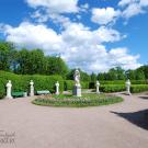 Большой Гатчинский дворец, Собственный садик