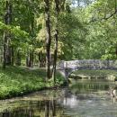 Гатчинский парк, мост через канал