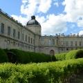 Вид на Большой Гатчинский дворец из Собственного садика