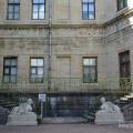 Большой Гатчинский дворец, двор рядом с Собственным садиком
