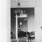 Анфилада комнат в усадебном доме Морозовых (столовая – гостиная – парадный кабинет)