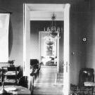 Анфилада комнат в усадебном доме Морозовых (парадный кабинет - гостиная - столовая)