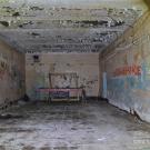 Сарженка. Заброшенный командный пункт, бункер внутри