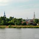 Кинешма, панорама старого города
