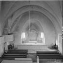 Кирха Ряйсяля (Мельниково), интерьер. Архивное фото 1940-х гг.