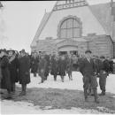Кирха Ряйсяля (Мельниково), архивное фото 1940-х гг.