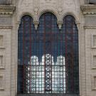 Кукобой. Церковь Спаса Нерукотворного Образа (фрагмент фасада с окном)