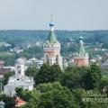 Вид на бывший Иакиманский монастырь с колокольни Ново-Никольского собора