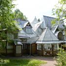 Музей-усадьба Репина Пенаты, дом со стороны парка