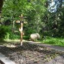 Музей-усадьба Пенаты, могила И.Е. Репина