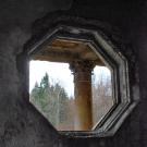 Пансионат Полушкино, октагональное окно третьего этажа