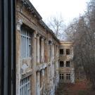 Заброшенный пансионат Полушкино