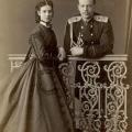 Великий князь Александр Александрович и великая княгиня Мария Федоровна